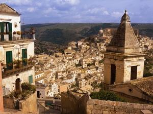 View Over Ragusa by Bruno Ehrs