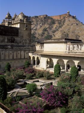 Amber Palace, Jaipur, Rajasthan State, India by Bruno Morandi
