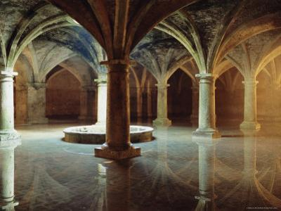Ancient Portuguese Cistern, El Jadida, Atlantic Coast, Morocco, Africa