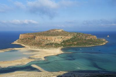 Balos Bay and Gramvousa Island, Gramvousa, Chania, Crete, Greek Islands, Greece, Europe by Bruno Morandi