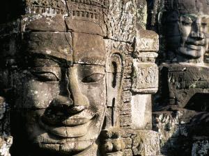 Bayon Temple, Angkor, Unesco World Heritage Site, Siem Reap, Cambodia, Indochina by Bruno Morandi