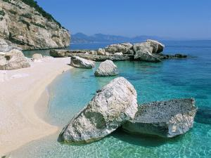 Cala Mariolu, Cala Gonone, Golfe Di Orosei (Orosei Gulf), Island of Sardinia, Italy by Bruno Morandi