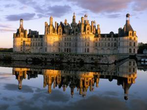 Chateau De Chambord, Unesco World Heritage Site, Loir-Et-Cher, Pays De Loire, Loire Valley, France by Bruno Morandi