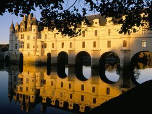 Chateau of Chenonceau, Indre Et Loire, Loire Valley, France by Bruno Morandi