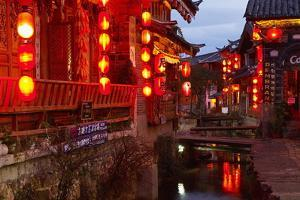 City of Lijiang, UNESCO World Heritage Site, Yunnan, China, Asia by Bruno Morandi