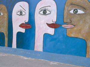 East Side Gallery, Berlin Wall, Berlin, Germany by Bruno Morandi