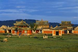 Erdene Zuu Monastery, Karakorum, Uvurkhangai, Mongolia by Bruno Morandi