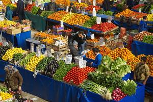 Fruit and Vegetable Market, Konya, Central Anatolia, Turkey, Asia Minor, Eurasia by Bruno Morandi