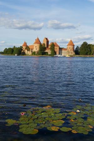 Island Castle of Trakai Near Vilnius, Lithuania, Europe