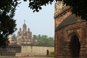 Kalna Temple Complex, Kaha, West Bengal, India, Asia by Bruno Morandi