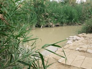 Location on the Jordan River Where Jesus was Baptised, Bethany, Jordan, Middle East by Bruno Morandi
