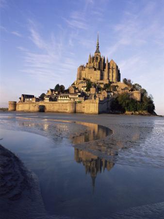 Mont Saint Michel (Mont-St. Michel), Manche, Normandie (Normandy), France