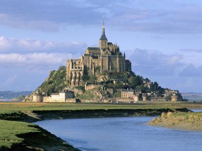 Mont Saint Michel, Unesco World Heritage Site, Manche, Normandy, France