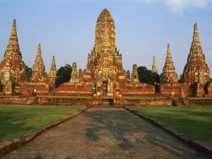 Phra Nakhon Si Ayutthaya, Wat Chai Wattanaram, Thailand by Bruno Morandi