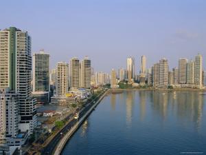 Skyline, Panama City, Panama, Central America by Bruno Morandi