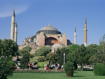 St. Sophia Mosque (Aya Sofia) (Hagia Sophia), Istanbul, Marmara Province, Turkey