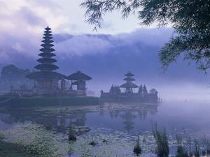 Temple of Pura Ulun Danu Bratan, Bali, Indonesia, Asia by Bruno Morandi