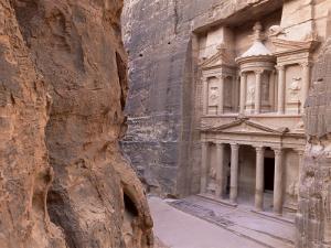 The Treasury (El Khazneh), Petra, Unesco World Heritage Site, Jordan, Middle East by Bruno Morandi