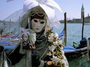 Venice Carnival, Venice, Veneto, Italy by Bruno Morandi