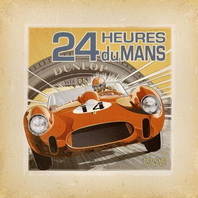 24 Heures Du Mans by Bruno Pozzo