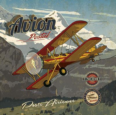Avion postal by Bruno Pozzo