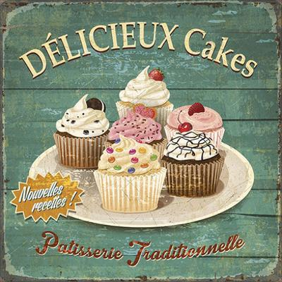 Délicieux cakes by Bruno Pozzo