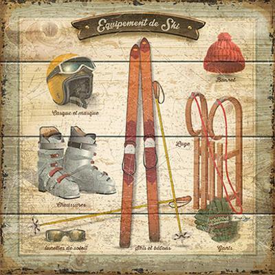 Équipement de ski by Bruno Pozzo
