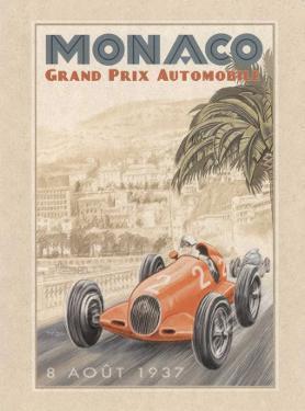 Grand Prix Automobile 1937 by Bruno Pozzo