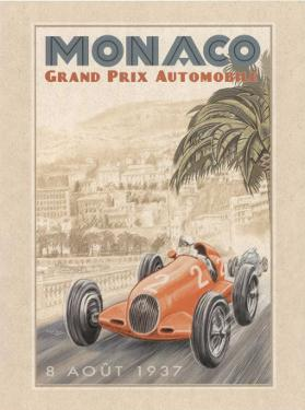 Grand Prix Automobile, c.1937 by Bruno Pozzo