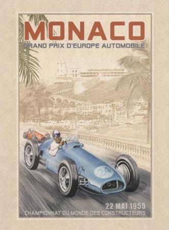 Grand Prix Automobile d'Europe, c.1955 by Bruno Pozzo