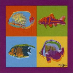 Happy Fishes by Bruno Pozzo