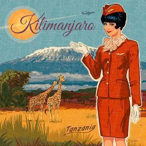 Kilimanjaro by Bruno Pozzo