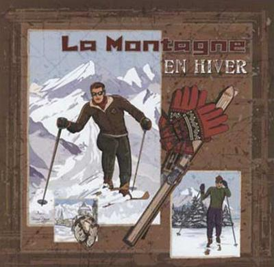 La Montagne en Hiver by Bruno Pozzo
