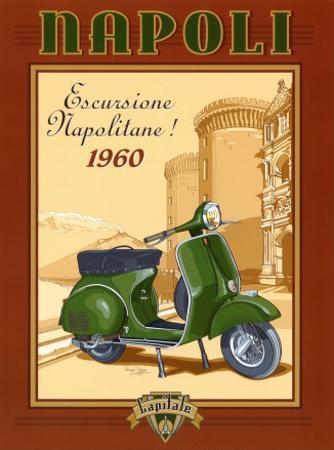 Napoli Scooter by Bruno Pozzo
