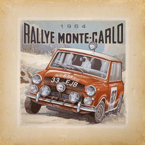 Rallye Monte-Carlo by Bruno Pozzo