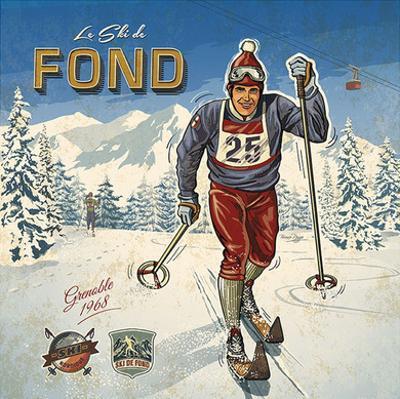 Ski fond by Bruno Pozzo