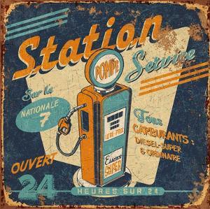 Station service by Bruno Pozzo