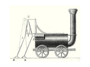 Brunton's Locomotive with Crutches