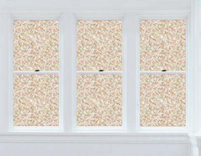 Brushstrokes Window Privacy Film