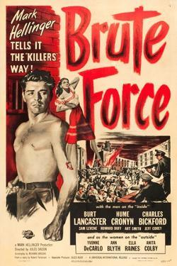 Brute Force, Burt Lancaster, Yvonne De Carlo, 1947