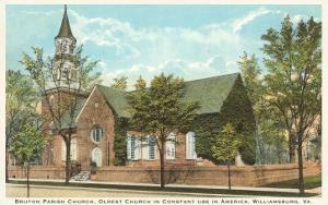 Bruton Parish Church, Williamsburg, Virginia
