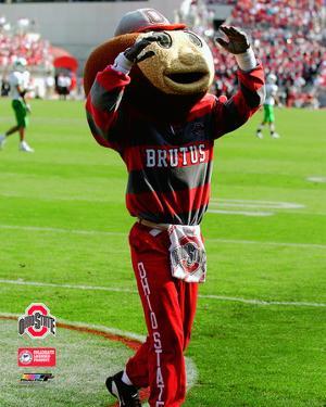 Brutus Buckeye - O.S.U. Mascot