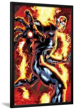 Avengers: Age of Ultron No.0.1: Ultron Running by Bryan Hitch