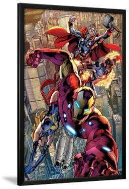 Avengers No.12.1: Iron Man, Ms. Marvel, Protector, and Thor by Bryan Hitch