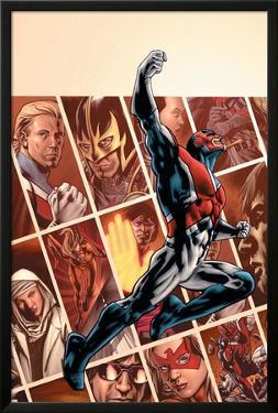 Captain Britain And MI:13No.1 Cover: Captain Britain by Bryan Hitch