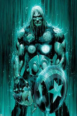 Ultimates No.2 Cover: Thor by Bryan Hitch
