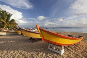 Usa, Puerto Rico, Fishing Boats on Crash Boat Beach by Bryan Mullennix