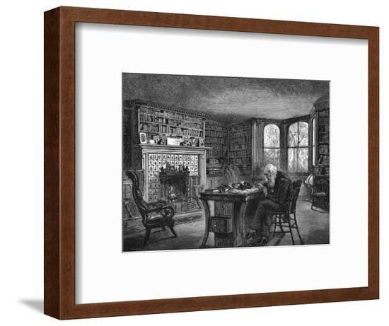Bryant Home Cedarmere--Framed Giclee Print