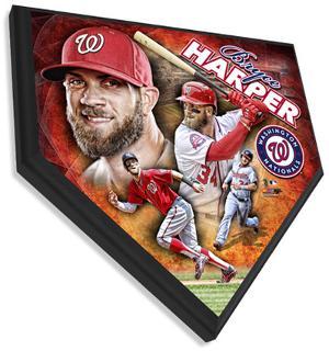 Bryce Harper Home Plate Plaque