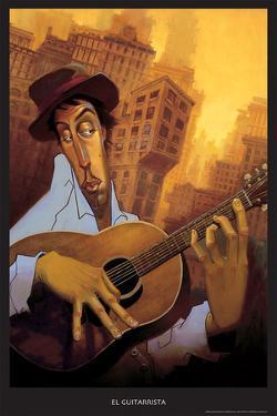 El Guitarrista by BUA
